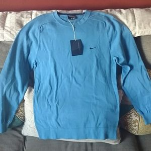 Brand new men's NIKE golf fitted sweater sz L